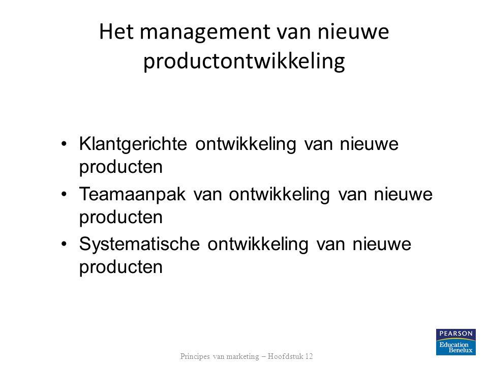 Het management van nieuwe productontwikkeling