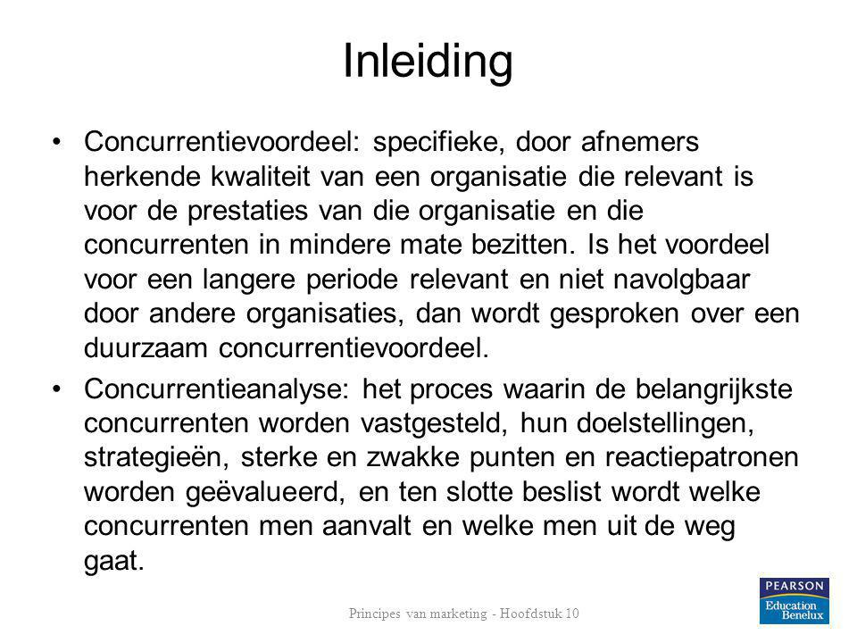 Principes van marketing - Hoofdstuk 10