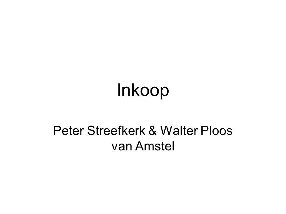 Peter Streefkerk & Walter Ploos van Amstel