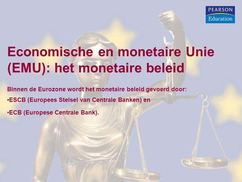 Economische en monetaire Unie (EMU): het monetaire beleid