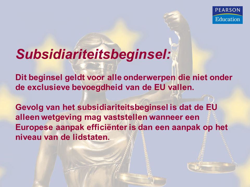 Subsidiariteitsbeginsel: