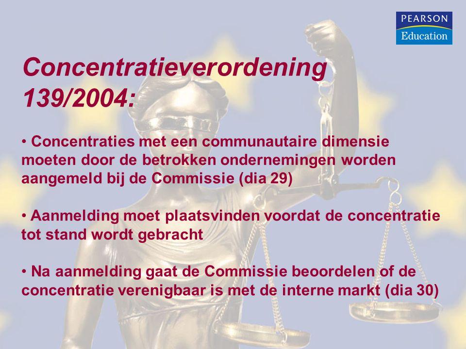 Concentratieverordening 139/2004: