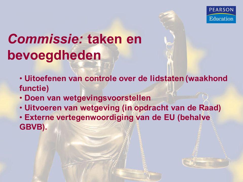 Commissie: taken en bevoegdheden