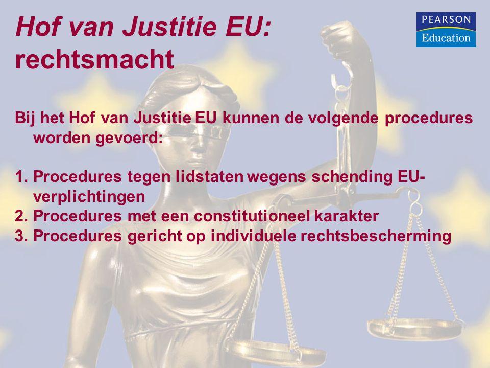 Hof van Justitie EU: rechtsmacht