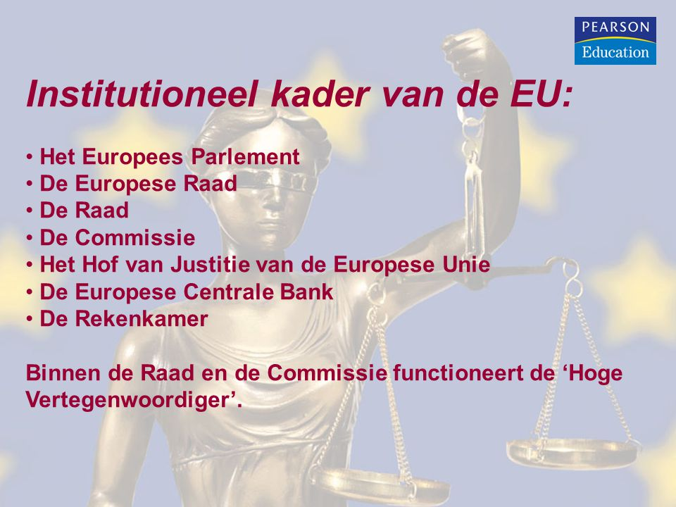 Institutioneel kader van de EU:
