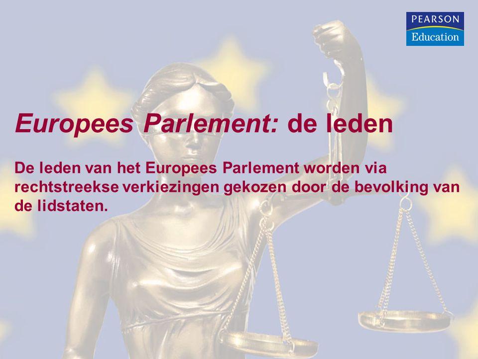 Europees Parlement: de leden