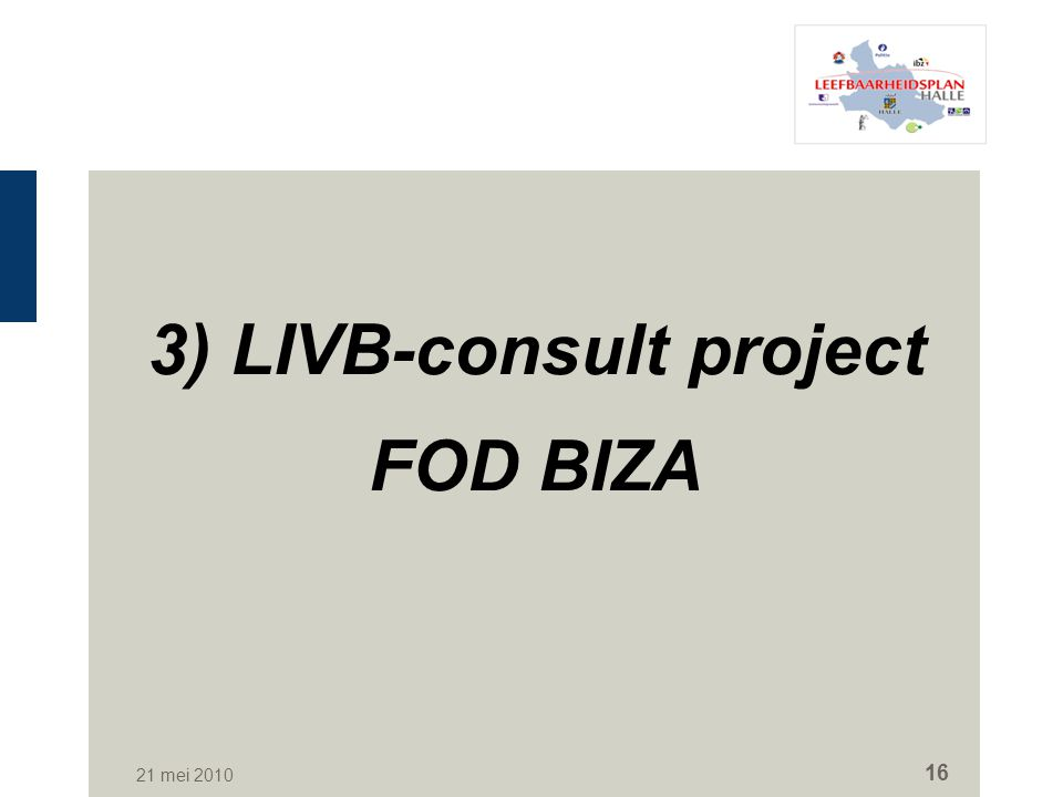 3) LIVB-consult project