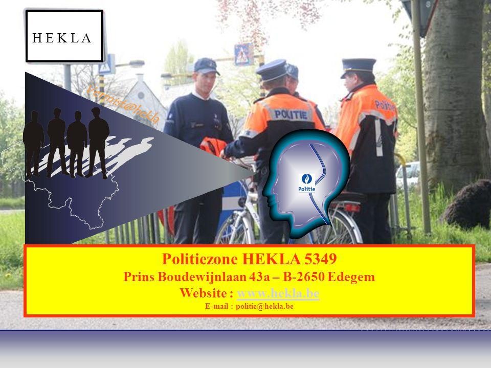 Politiezone HEKLA 5349 H E K L A