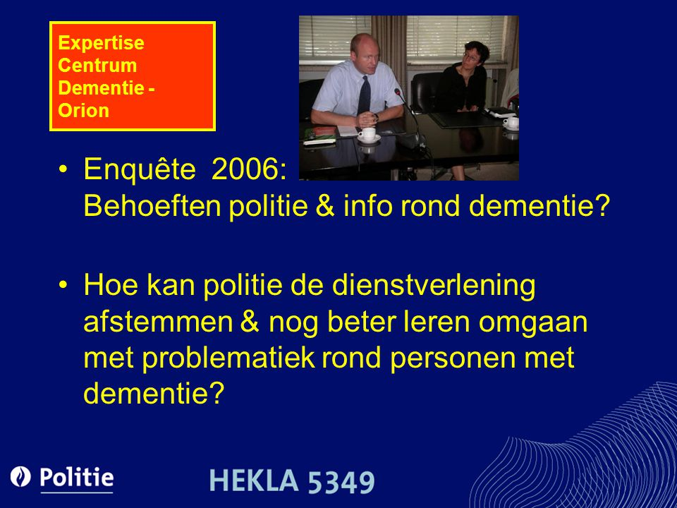 Expertise Centrum Dementie - Orion