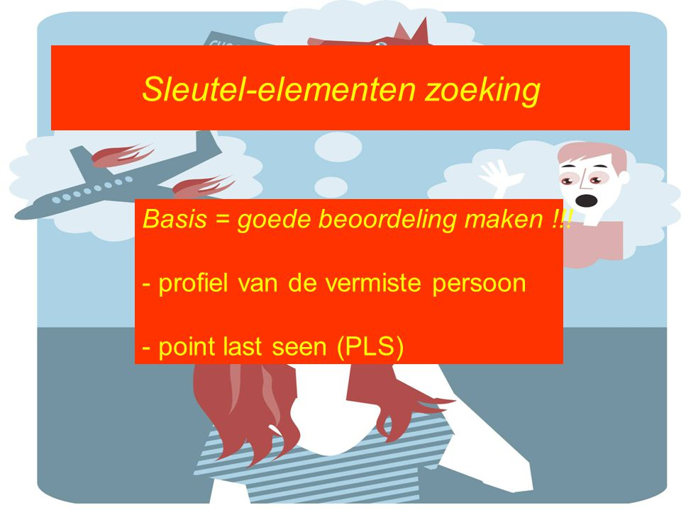 Sleutel-elementen zoeking