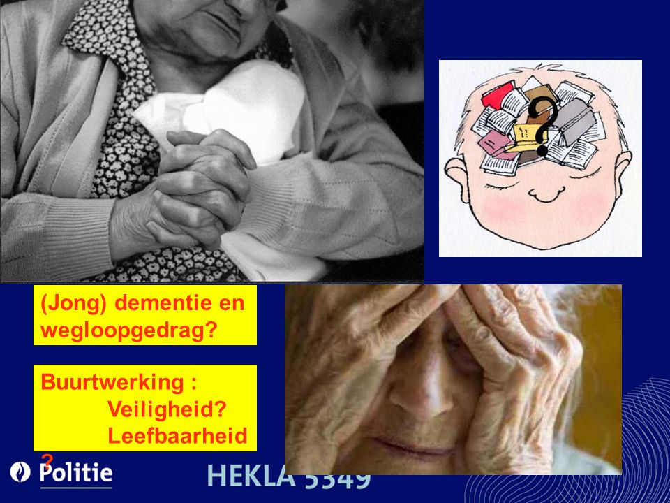 (Jong) dementie en wegloopgedrag