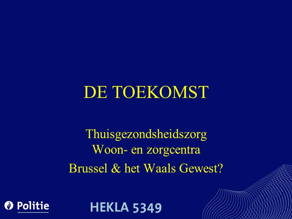 Thuisgezondsheidszorg Woon- en zorgcentra Brussel & het Waals Gewest