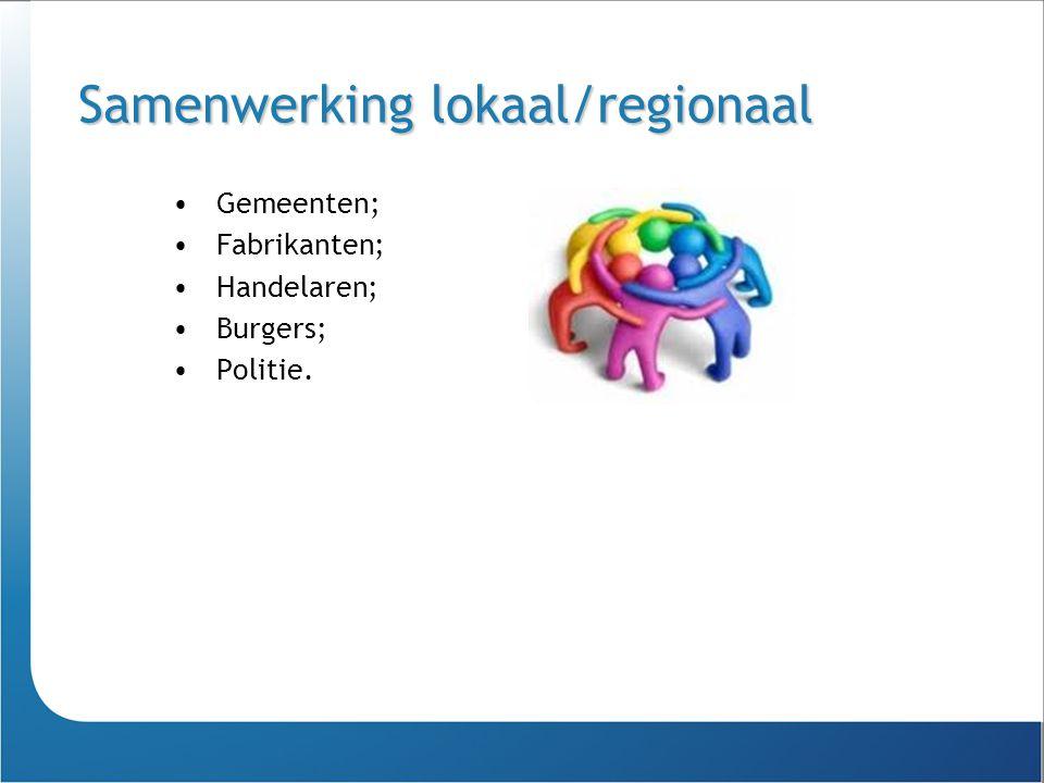 Samenwerking lokaal/regionaal