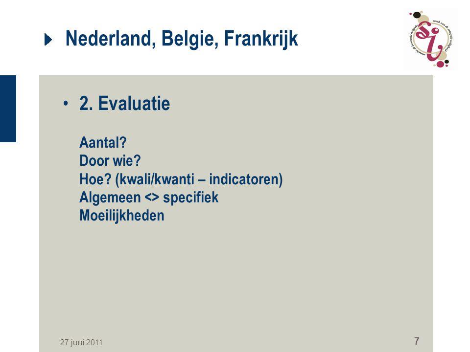 Nederland, Belgie, Frankrijk