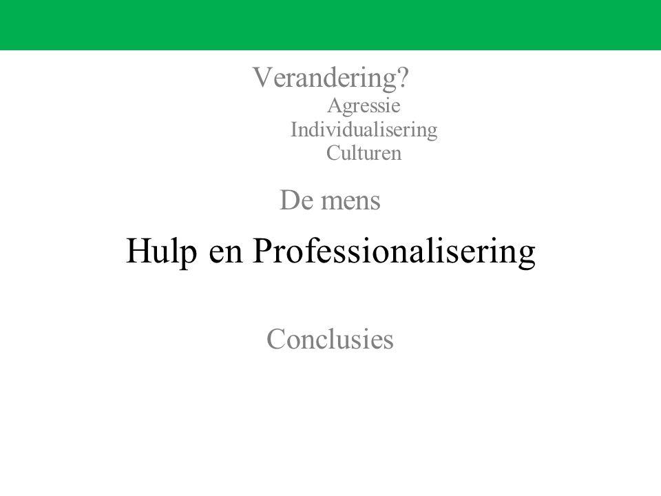 Hulp en Professionalisering