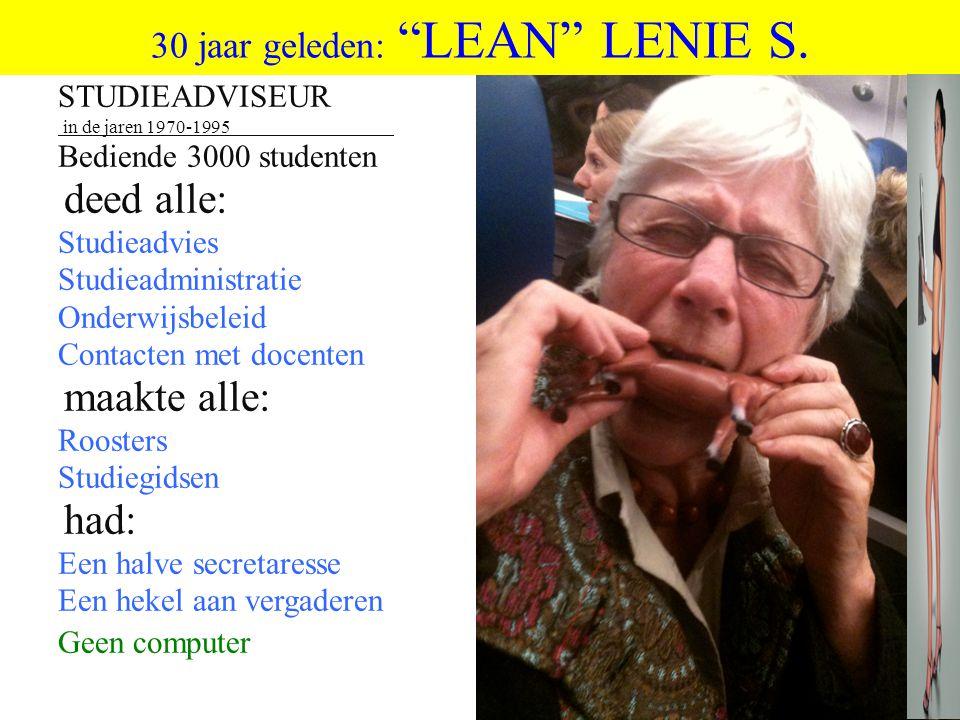 30 jaar geleden: LEAN LENIE S.