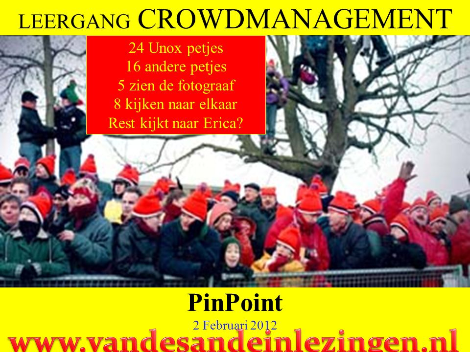 LEERGANG CROWDMANAGEMENT