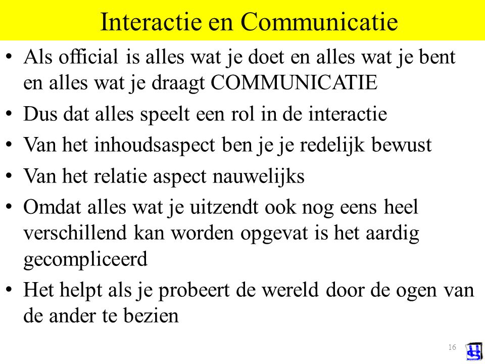 Interactie en Communicatie