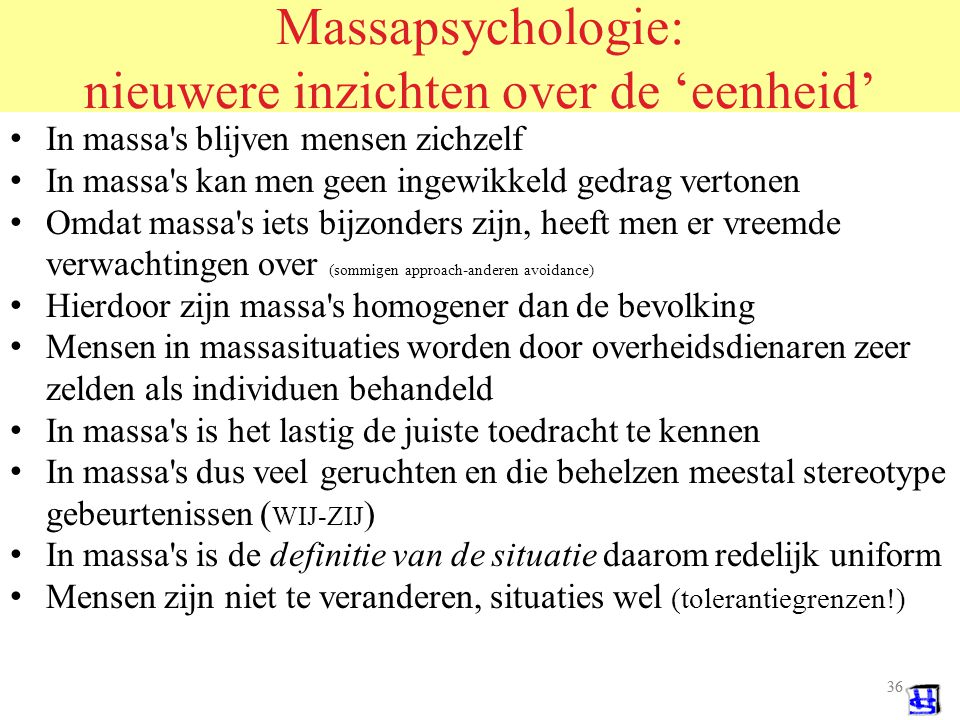 Massapsychologie: nieuwere inzichten over de 'eenheid'