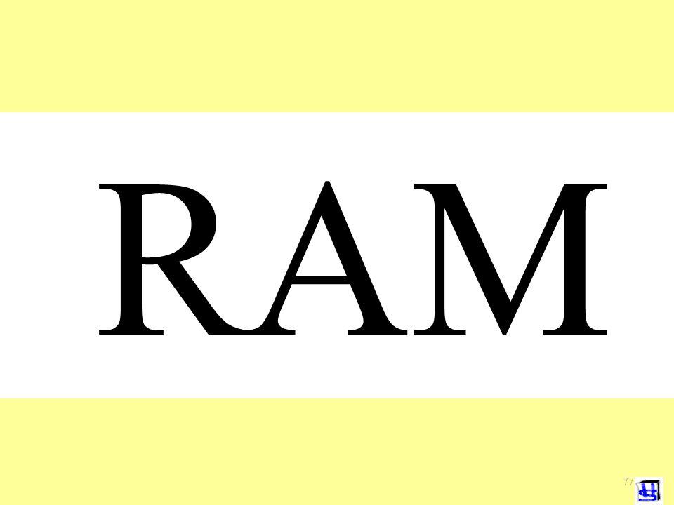 RAM Uitleg over het risico analyse model 77