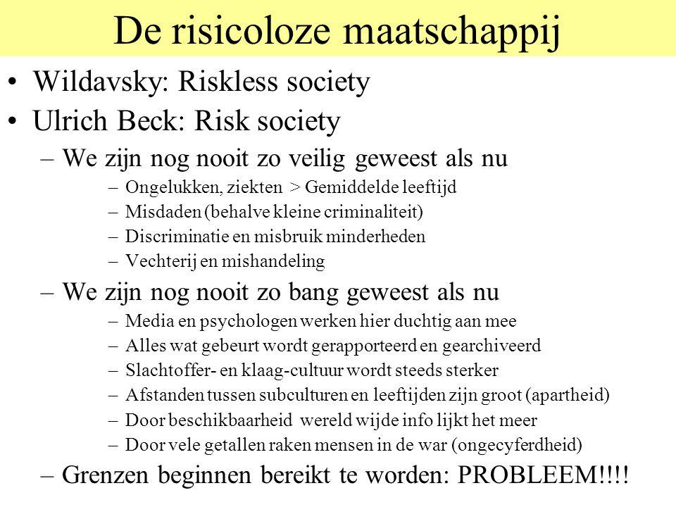 De risicoloze maatschappij