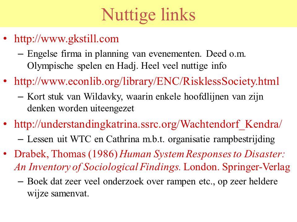 Nuttige links http://www.gkstill.com
