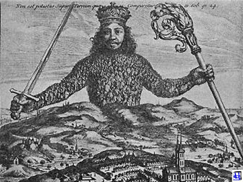 EEN WAT SOMBER MAN THOMAS HOBBES (1588-1679) LEVIATHAN