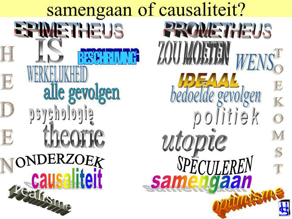 samengaan of causaliteit