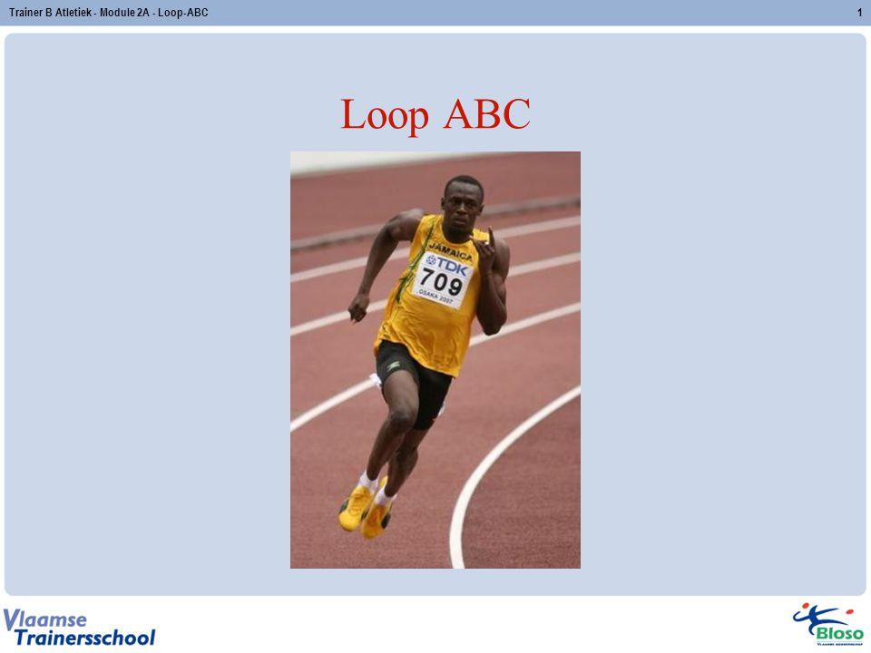 Trainer B Atletiek - Module 2A - Loop-ABC