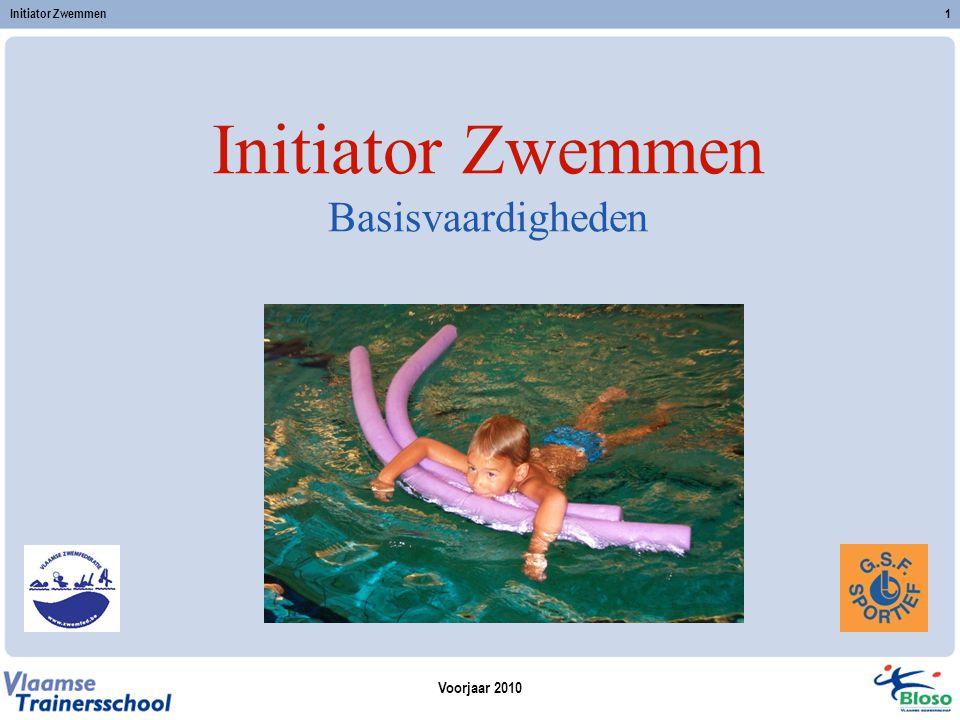 Initiator Zwemmen Basisvaardigheden