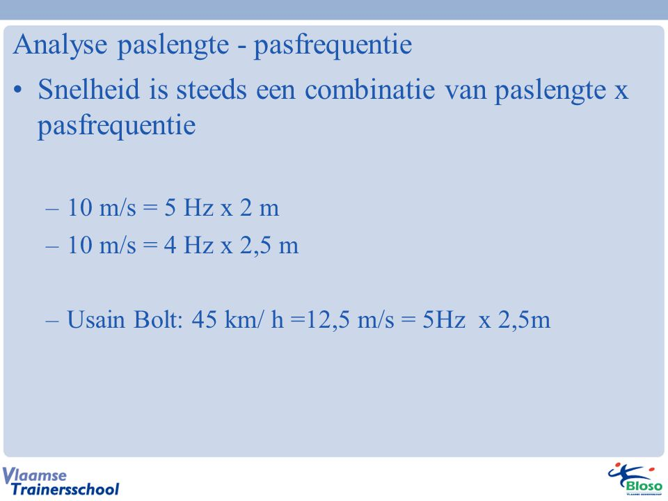 Analyse paslengte - pasfrequentie