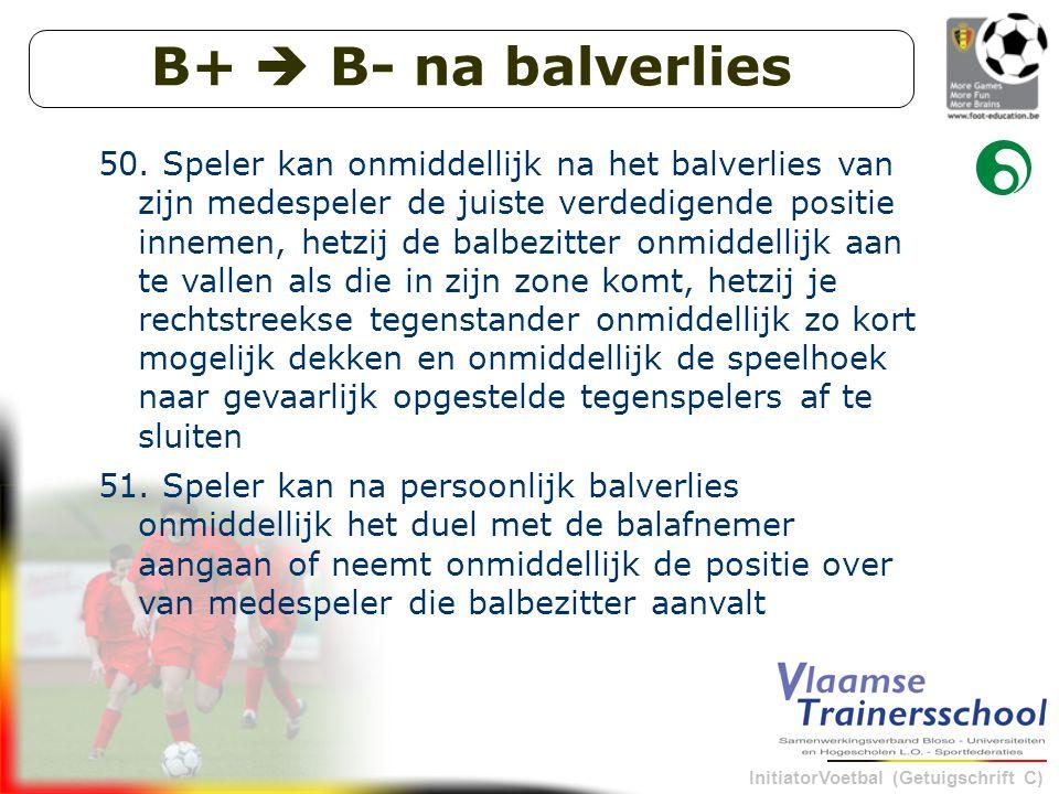 B+  B- na balverlies