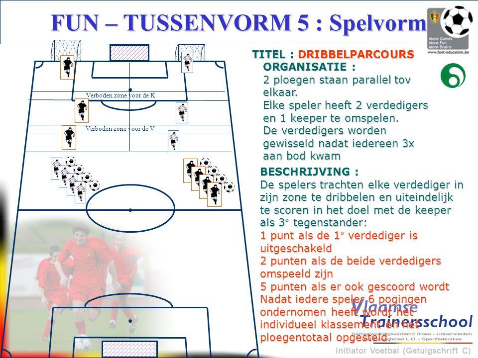FUN – TUSSENVORM 5 : Spelvorm