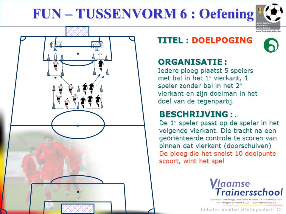 FUN – TUSSENVORM 6 : Oefening