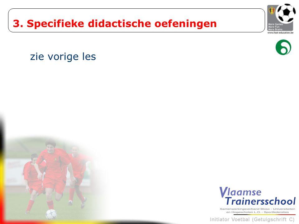 3. Specifieke didactische oefeningen