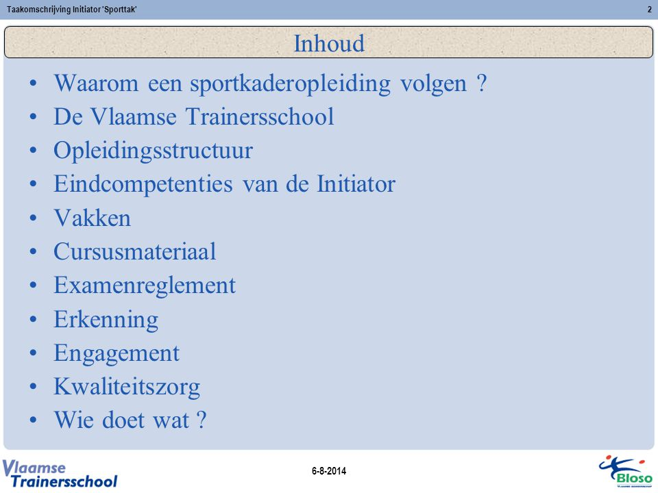 Waarom een sportkaderopleiding volgen De Vlaamse Trainersschool