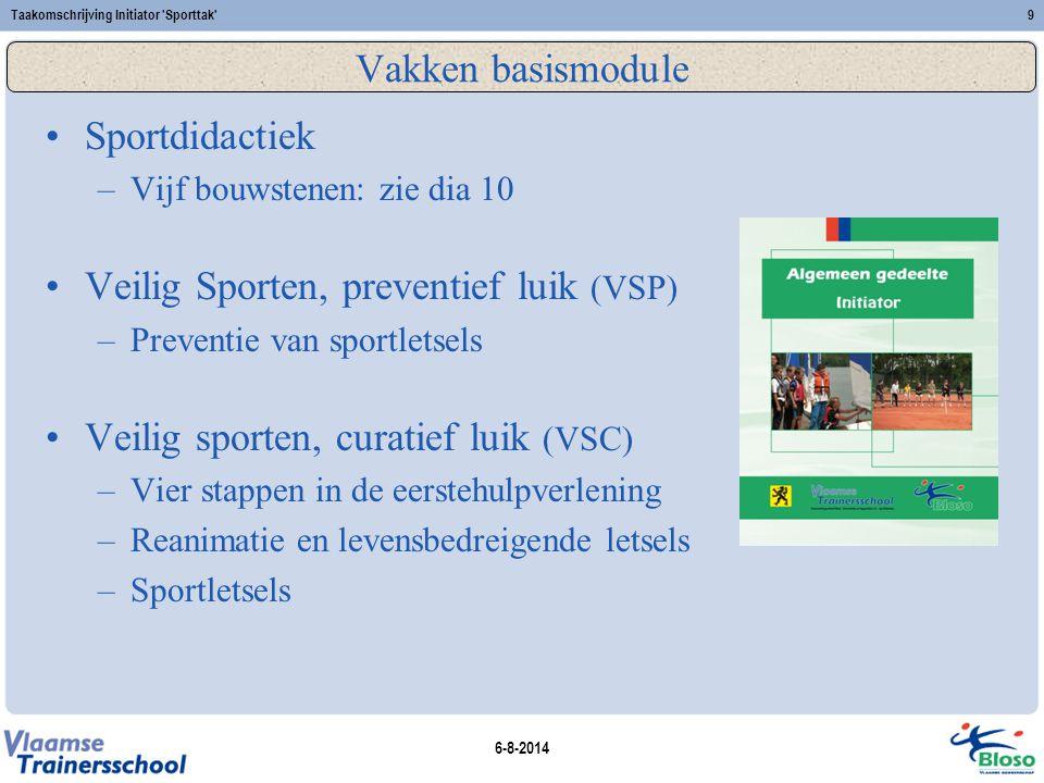 Veilig Sporten, preventief luik (VSP)