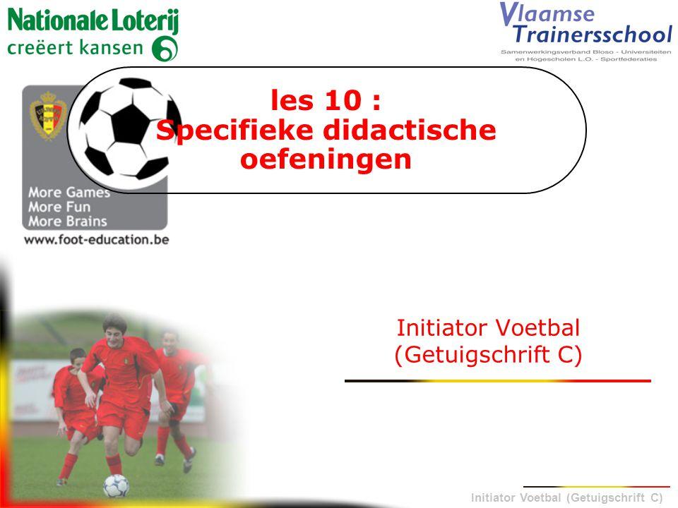 les 10 : Specifieke didactische oefeningen