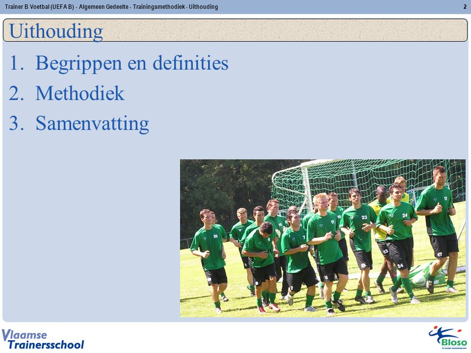 Begrippen en definities Methodiek Samenvatting