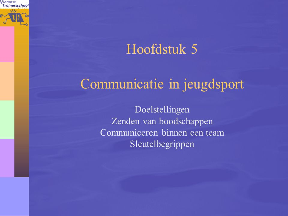 Communicatie in jeugdsport