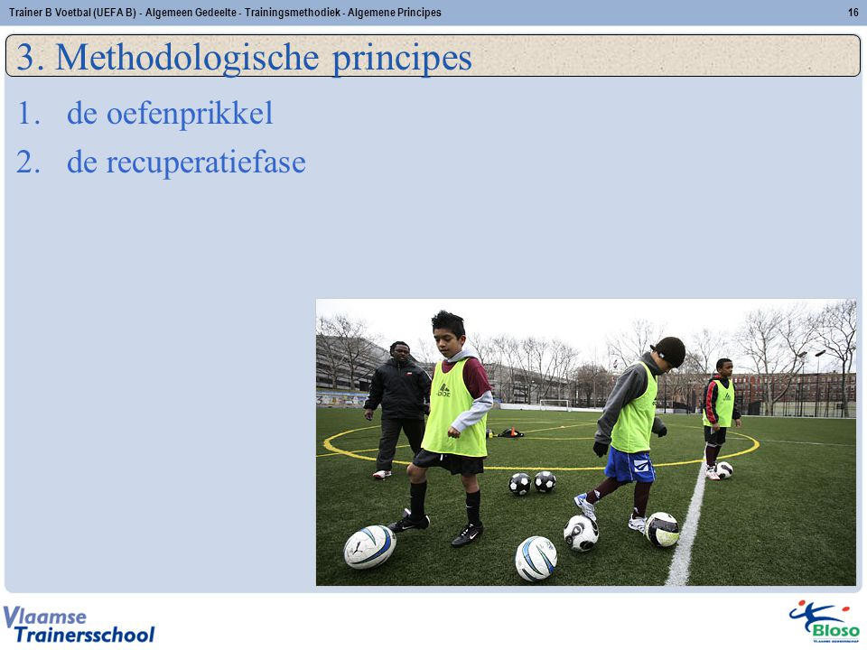 3. Methodologische principes