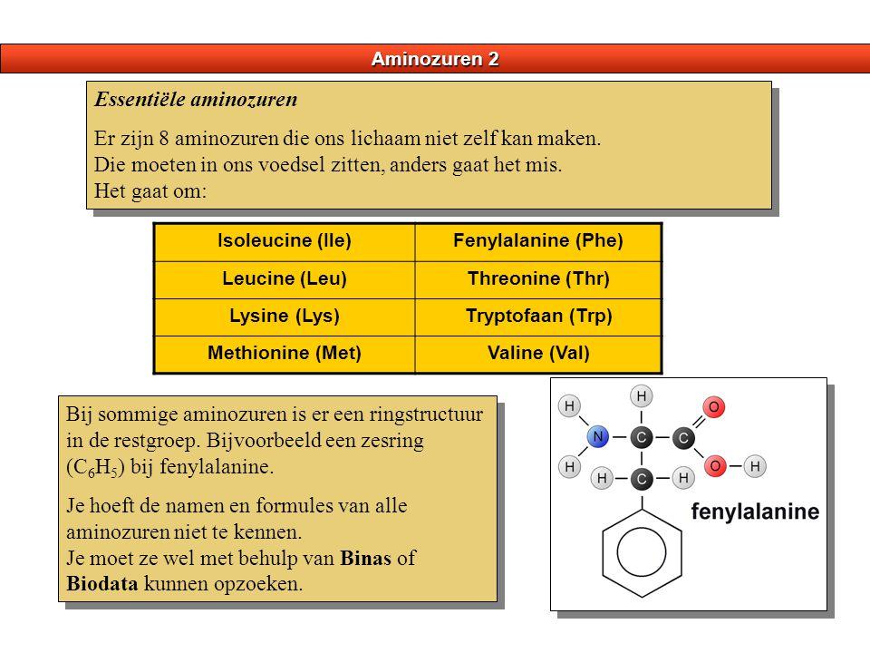 Essentiële aminozuren