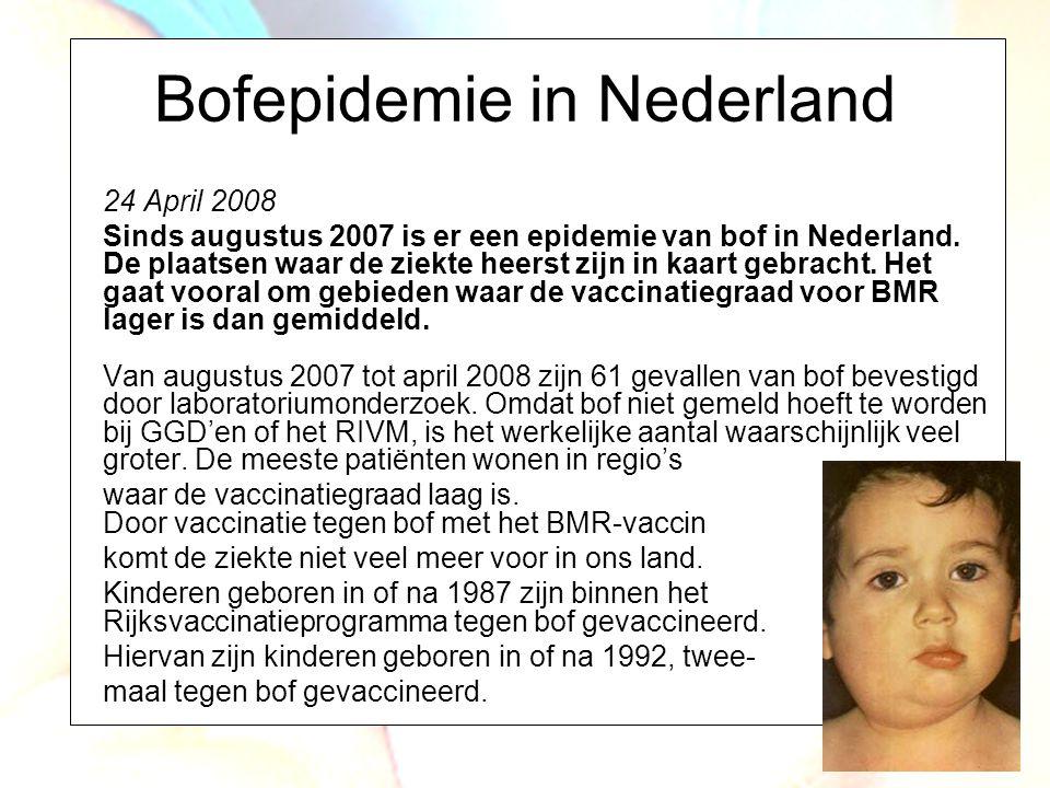 Bofepidemie in Nederland