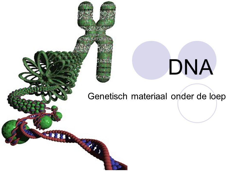 Genetisch materiaal onder de loep