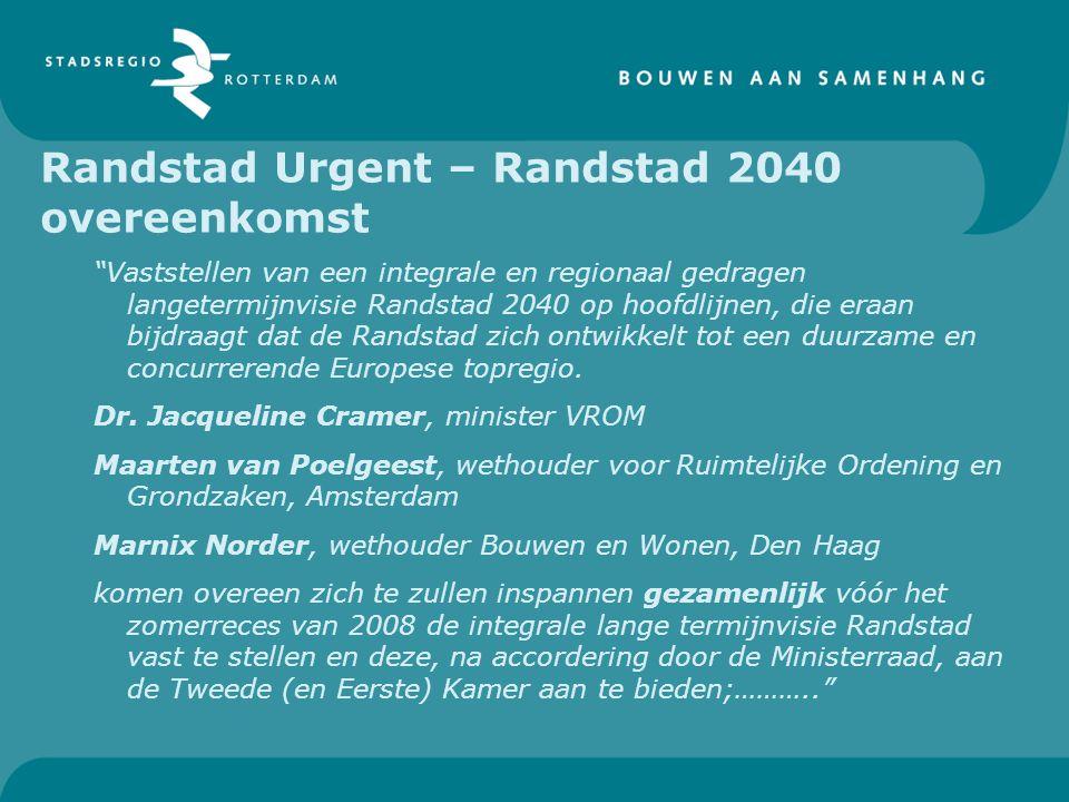 Randstad Urgent – Randstad 2040 overeenkomst