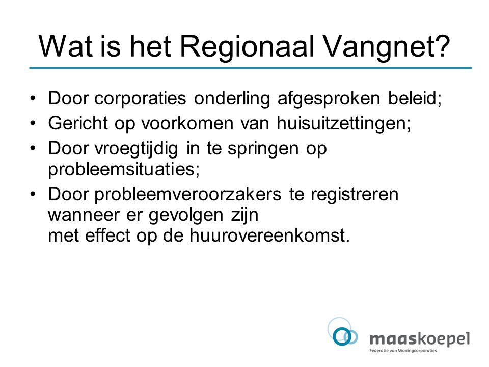 Wat is het Regionaal Vangnet