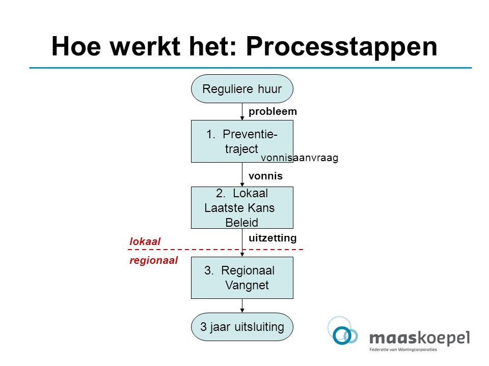 Hoe werkt het: Processtappen