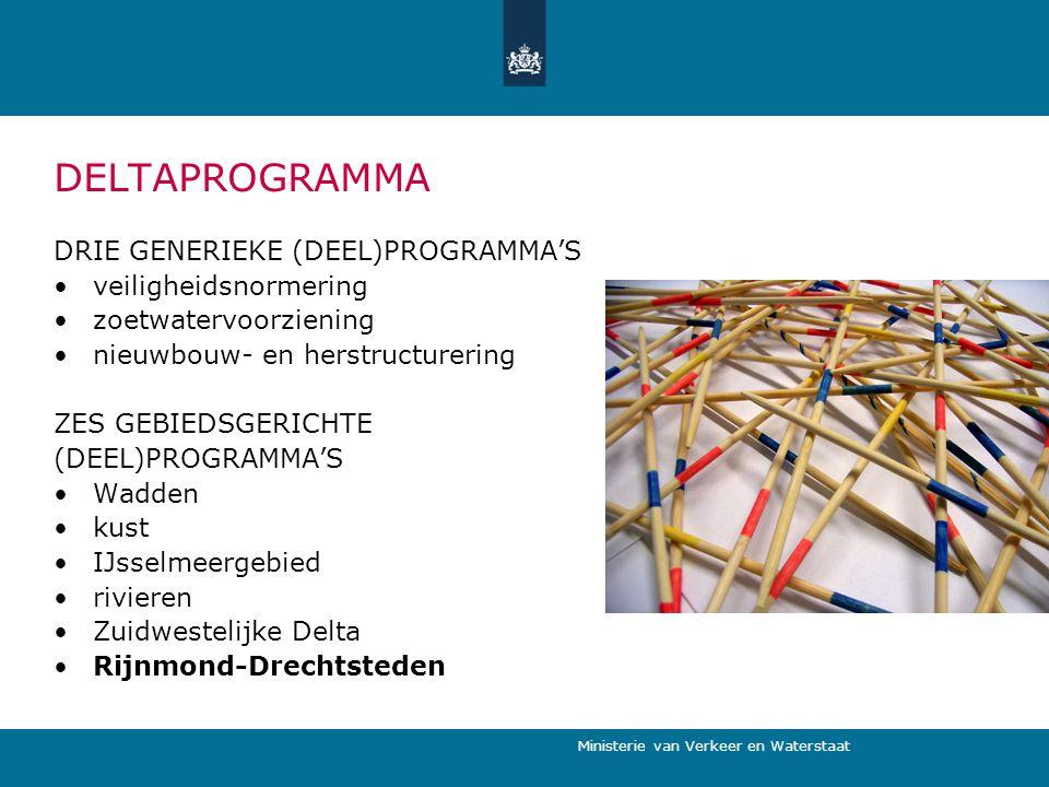 DELTAPROGRAMMA DRIE GENERIEKE (DEEL)PROGRAMMA'S veiligheidsnormering