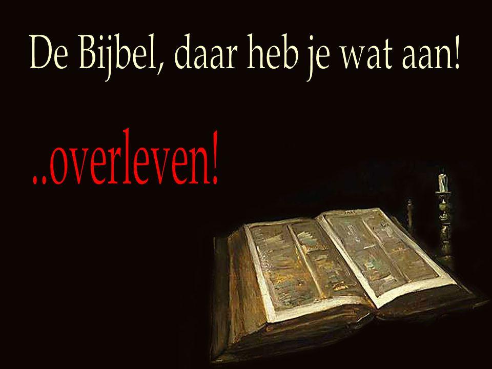 De Bijbel, daar heb je wat aan!