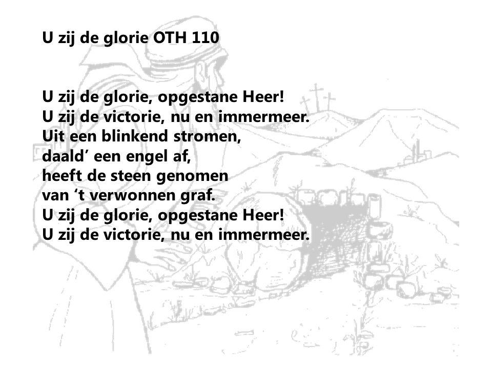 U zij de glorie OTH 110